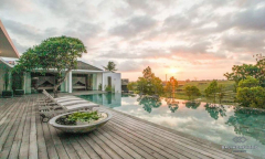 Image 1 from 3 Bedroom Villa with Ricefield View For Sale Freehold in Canggu